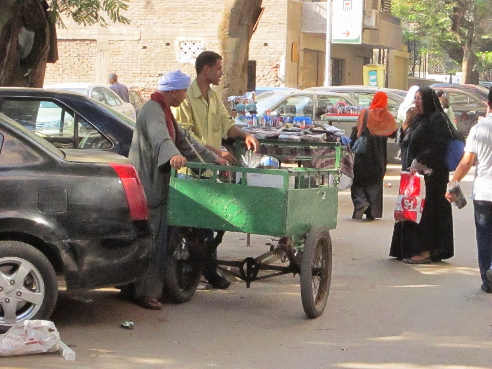 A Cool Sustainable Transport Vehicle in Cairo!