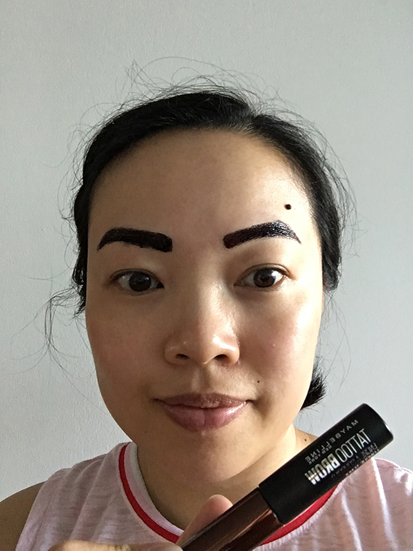 Using Maybelline Tattoo Brow Long Lasting Tint
