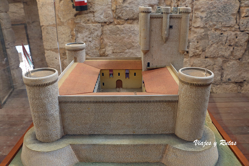 Maqueta del castillo de Torrelobatón