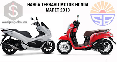 Harga-terbaru-Motor-Honda-Maret-2018-pamekasan