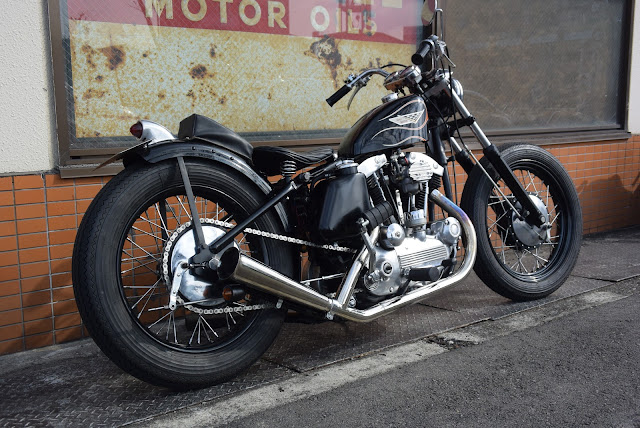 Harley Davidson XLH 1969 By Bold Idea Custom Cycles Hell Kustom