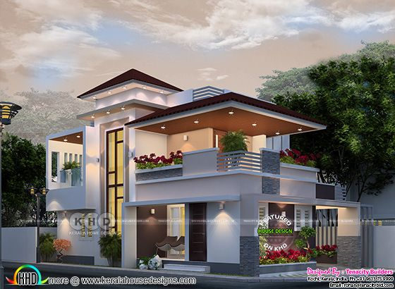 Fusion style home with 3 bedrooms