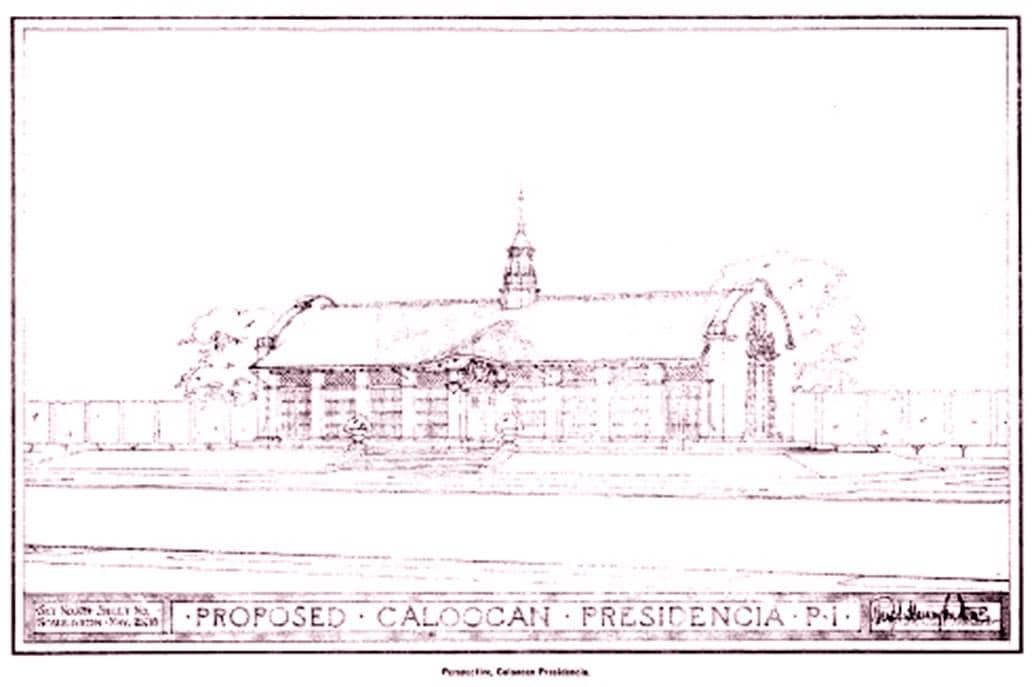 Plan for the Presidencia of Caloocan