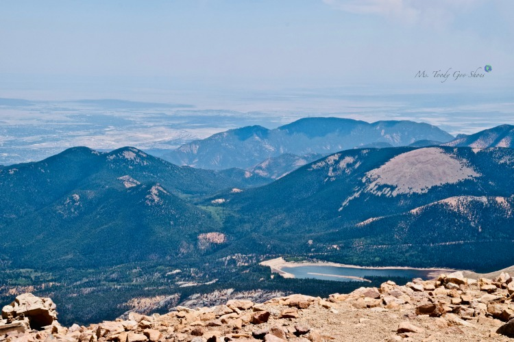 Views from the summit of Pikes Peak, Colorado Springs | Ms. Toody Goo Shoes