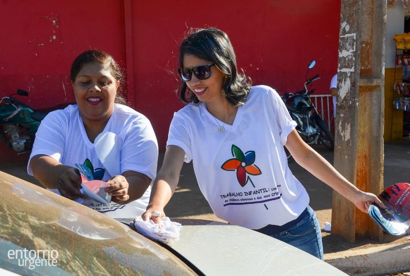 Prefeitura de Planaltina realiza blitz educativa em combate a exploração do trabalho infantil
