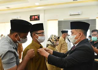 Bupati Batu Bara Lantik Pejabat Pimpinan Tinggi Pratama Dan Serahkan SK CPNS