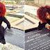 CELEBRITY LIFE: Denrele Visits Goldie's Grave 4 Years After!