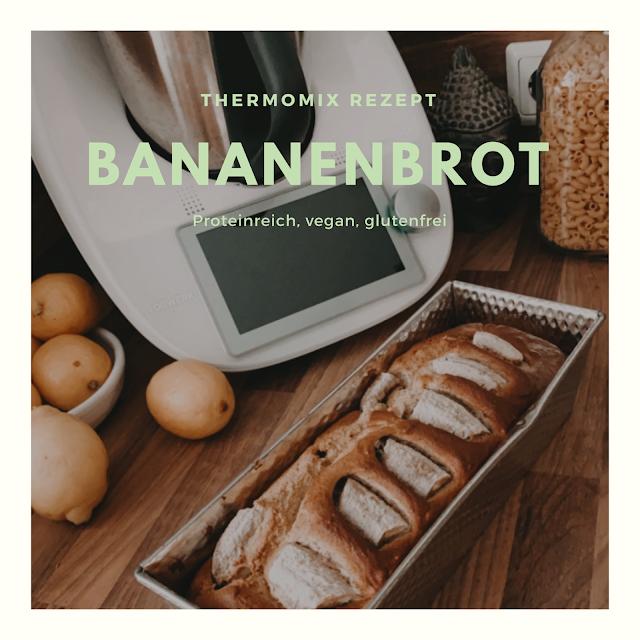Bananenbrot, Rezept, Selbermachen, Proteinbrot, thermomix Rezept, thermomix, bananenbroteinbrot, lecker, diy, gesund und lecker, anitasrezept