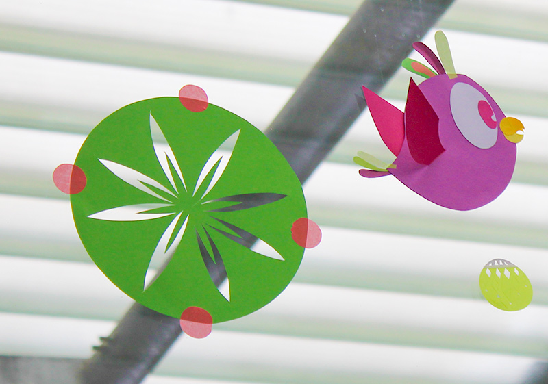 fleurs et pioupiou