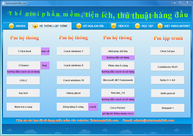 Softwar All In One Version 6 Tất Cả Trong Một