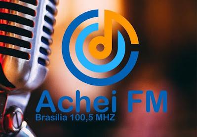 Rádio Achei FM 100,5 de Brasília