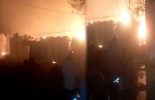 fire-in-bihar-police-line