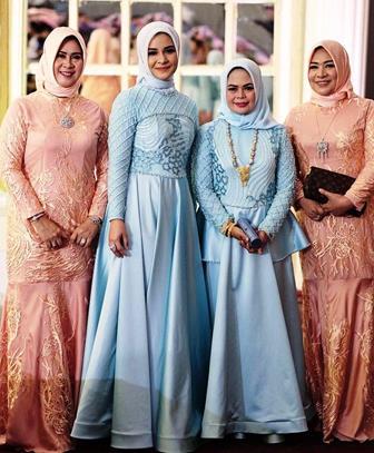 Model Kebaya Muslim Yang Simpel