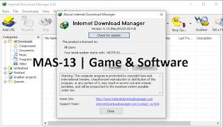 Tampilan Awal IDM 6.33 Build 1