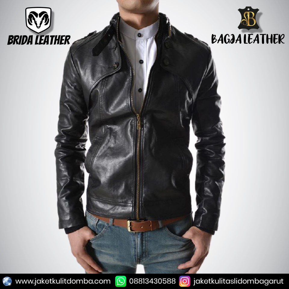 jaket kulit leather