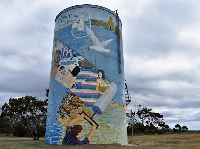 George town Water Tank   Tasmanian Street Art