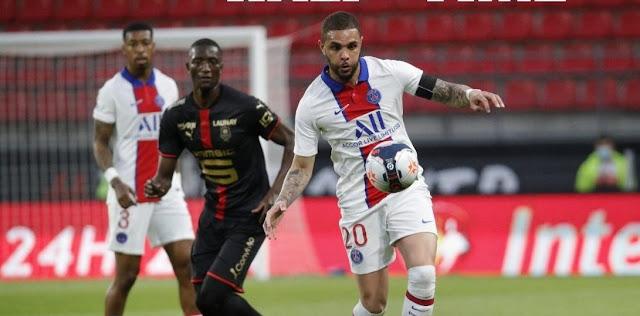 ملخص واهداف مباراة باريس سان جيرمان ورين (1-1) الدوري الفرنسي