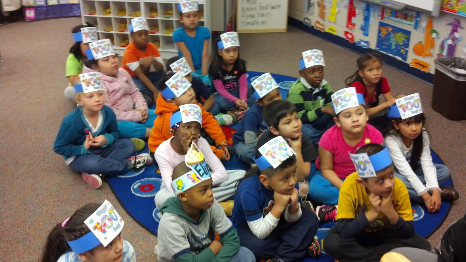 Miss Jones Kindergarten Class February