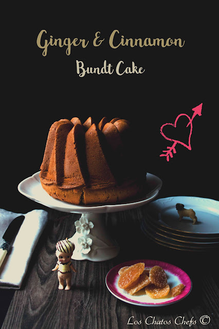 Ginger & Cinnamon Bundt Cake - #BundtBakers