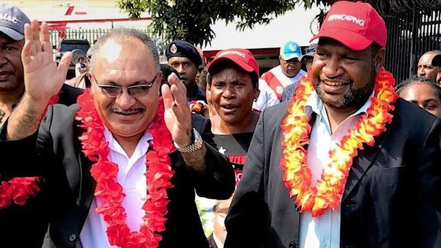 James Marape Terpilih Sebagai PM Baru PNG Menggantikan Peter O'Neill