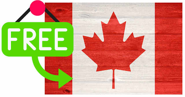 FREE Canadian Flag in the Mail