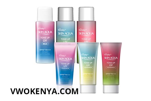 Review kem chống nắng Skin Aqua Milk
