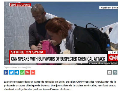 terrorists plan to carry out attacks using toxic chemicals to accuse the Syrian Government of using them