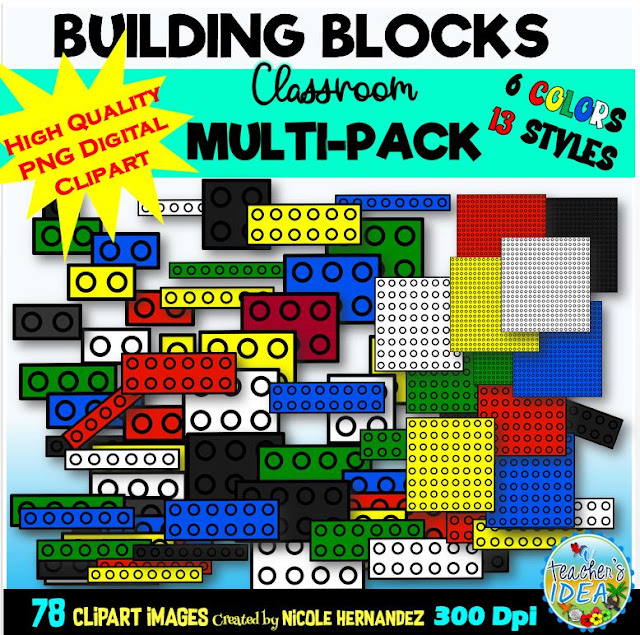 https://www.teacherspayteachers.com/Product/Flat-Building-Blocks-Clip-Art-for-Personal-and-Commercial-Use-Classroom-Pack-5486275