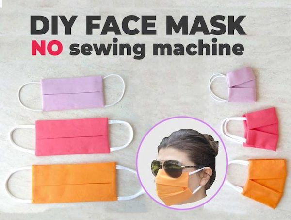 DIY Face Mask without a Sewing Machine
