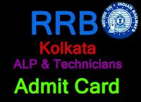rrbkolkata.gov.in alp admit card 2018 rrb kolkata admit card 2018 loco pilot