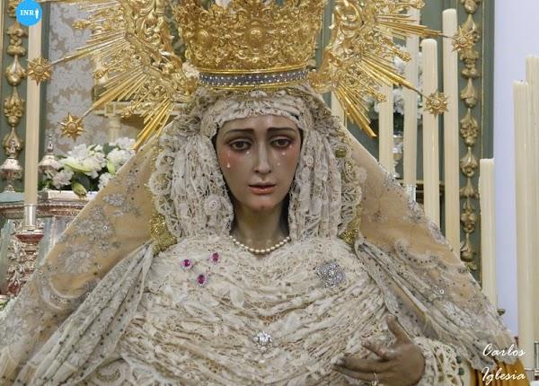 Bellavista despedirá a la Virgen del Dulce Nombre para su restauración el 12 de septiembre