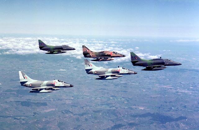 RNZAF A-4 Fleet in 1986 - RNZAF Official