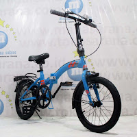 16in United Stylo Folding Bike