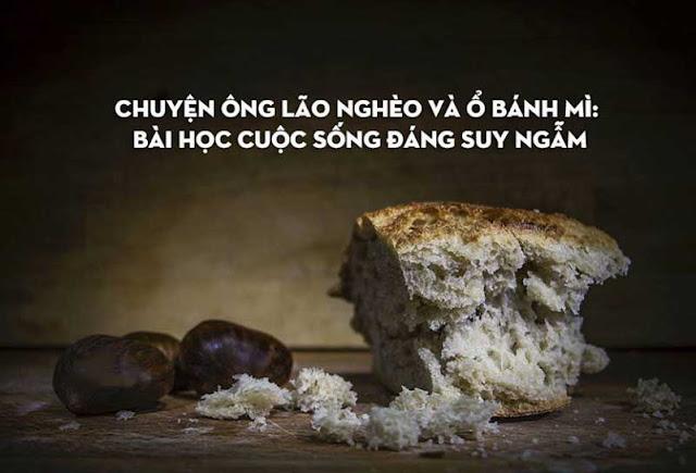 ông lão và ổ bánh mì