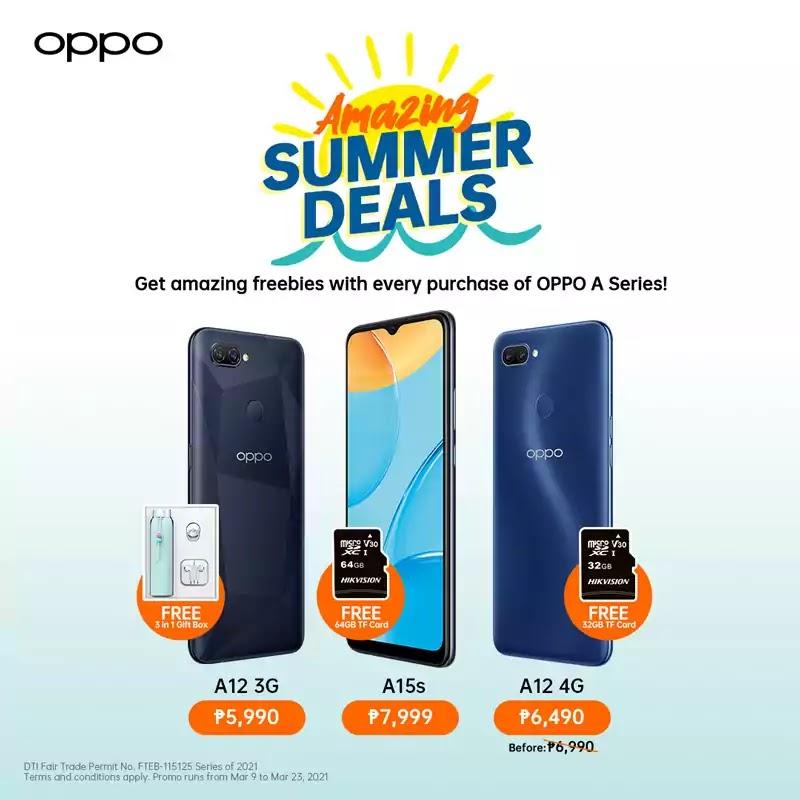 OPPO Amazing Summer Deals Promo