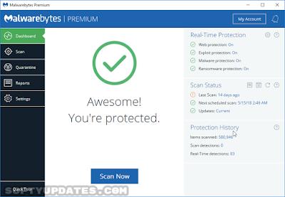 برنامج حماية Malwarebytes