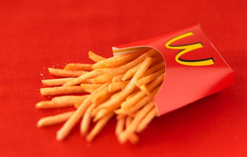 Kentang goreng McDonald's bisa membuat cepat hamil (foodnetwork.com)