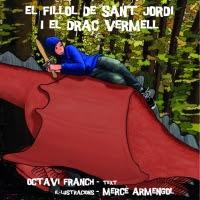 El fillol de sant Jordi i el drac Vermell