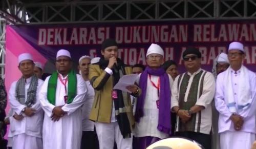 Ratusan Habib dan Ulama Jakarta Timur Deklarasi Dukungan untuk Jokowi-Kiai Ma'ruf