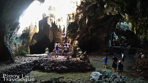 Inside Bukilat Cave