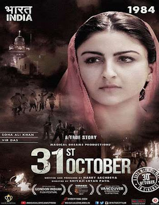 Poster Of Bollywood Movie 31st October 2016 300MB Cam Full Hindi Movie