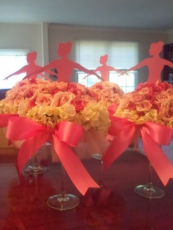 DIY So Original Quinceanera, Ballet, or Princess Party Centerpiece.
