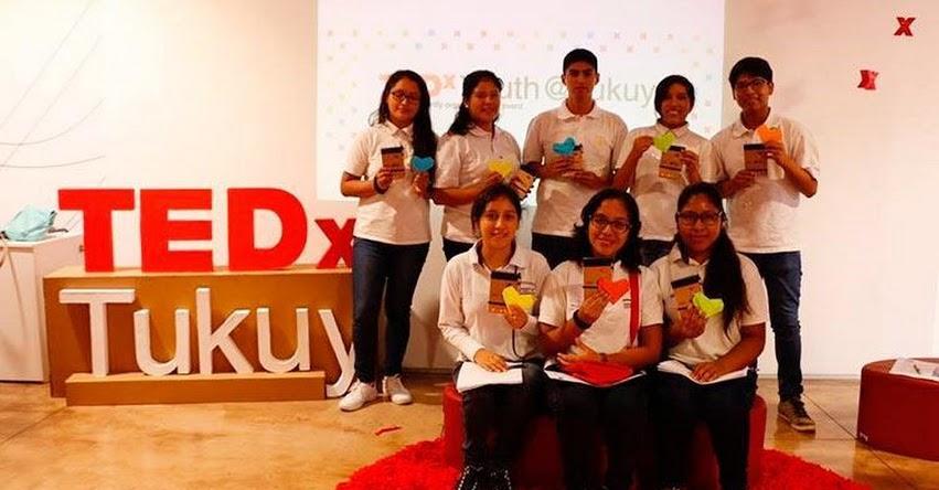 Estudiantes del CMSPP - Coar Lima participaron en el evento TEDxYouth@Tukuy