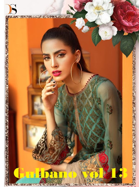 Deepsy Gulbano vol 13 Pakistani suits Catalog