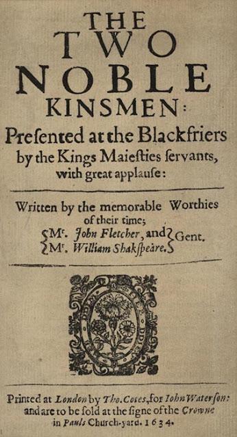 """Uma das últimas peças de Shakespeare, """"Os dois nobres parentes"""""""