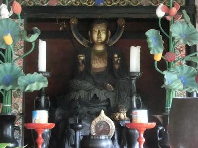 東漸寺の日金地蔵