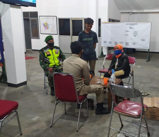 Terjaring Operasi Penggunaan Masker, 5 Orang Digelandang ke Posko Gugus Tugas Covid-19