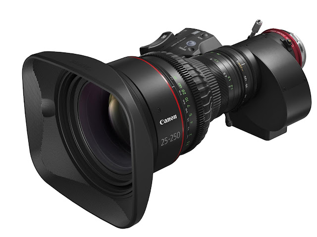 Canon U.S.A. Introduces New CINE-SERVO 25-250mm T2.95-3.95 Cinema Lens Available In Both EF And PL Mount
