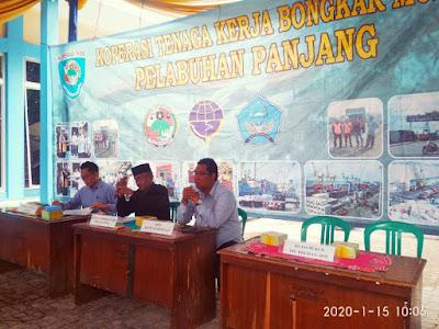 Koperasi TKBM Pelabuhan Panjang Benahi Jamsostek Ketenagakerjaan Anggota