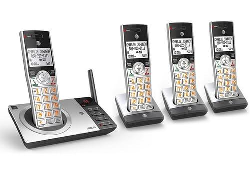 AT&T CL82407 DECT 6.0 Expandable Cordless Phone